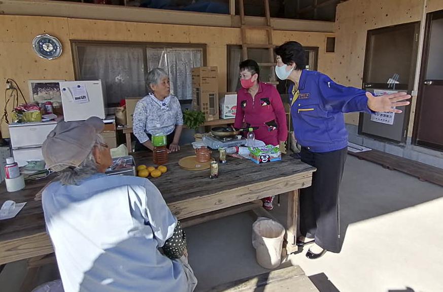 豪雨被災地、熊本を視察
