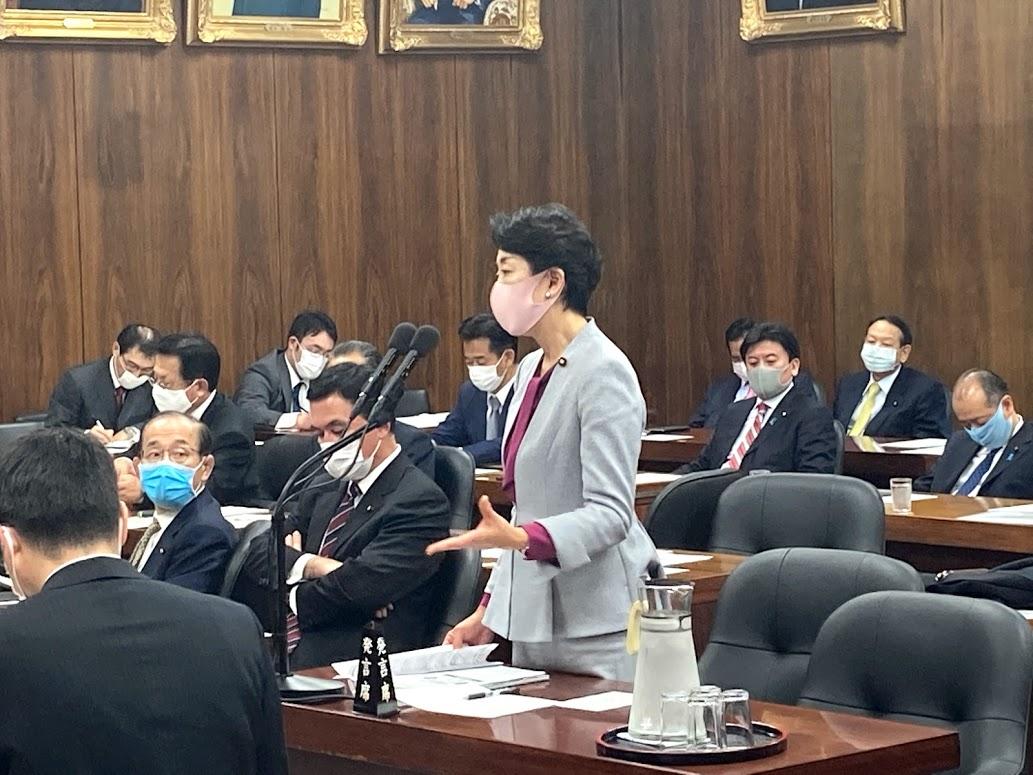 衆議院災害対策特別委員会で小此木大臣に質問